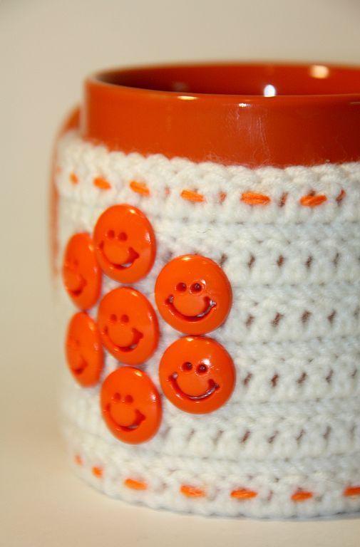 Кружки и чашки ручной работы. Ярмарка Мастеров - ручная работа. Купить Оранжевое настроение. Handmade. Кружка, улыбка, кружка