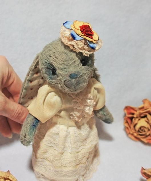 Мишки Тедди ручной работы. Ярмарка Мастеров - ручная работа. Купить Солька. Handmade. Разноцветный, кружево, состаренная игрушка, холлофайбер
