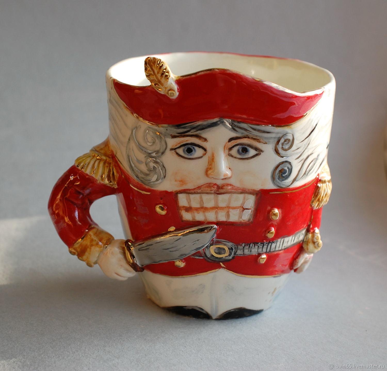 """Щелкунчик"". Кружка фарфоровая, Mugs and cups, Moscow,  Фото №1"