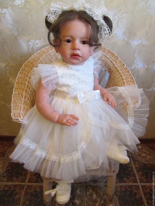 Куклы-младенцы и reborn ручной работы. Ярмарка Мастеров - ручная работа. Купить Кукла реборн Изабелла.. Handmade. Реборн, подарок