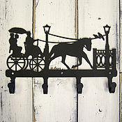 Для дома и интерьера ручной работы. Ярмарка Мастеров - ручная работа Крючки металлические С ветерком. Handmade.