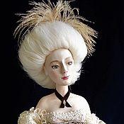 Куклы и игрушки ручной работы. Ярмарка Мастеров - ручная работа А-ля Помпадур Художественная статуарная кукла.. Handmade.