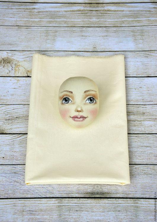 Человечки ручной работы. Ярмарка Мастеров - ручная работа. Купить Набор для текстильной куклы. Handmade. Лимонный, ткань для рукоделия