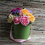 """Цветы и флористика ручной работы. Ярмарка Мастеров - ручная работа Букет из конфет """"Летний день"""" (в наличии). Handmade."""