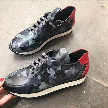 Обувь ручной работы. Ярмарка Мастеров - ручная работа Кроссовки: Женская обувь ручной работы. Handmade.