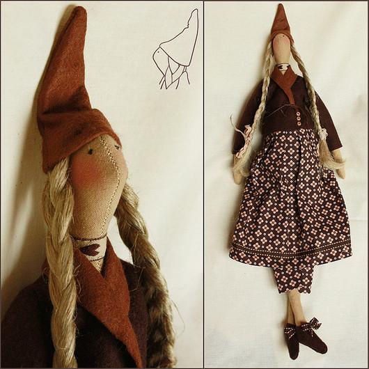 Куклы Тильды ручной работы. Ярмарка Мастеров - ручная работа. Купить Тильда Тария. Handmade. Тильда, кукла в подарок, коричневый