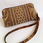 Сумки и аксессуары handmade. Livemaster - original item Women`s handbag, Adele, clutch, tapestry. Handmade.