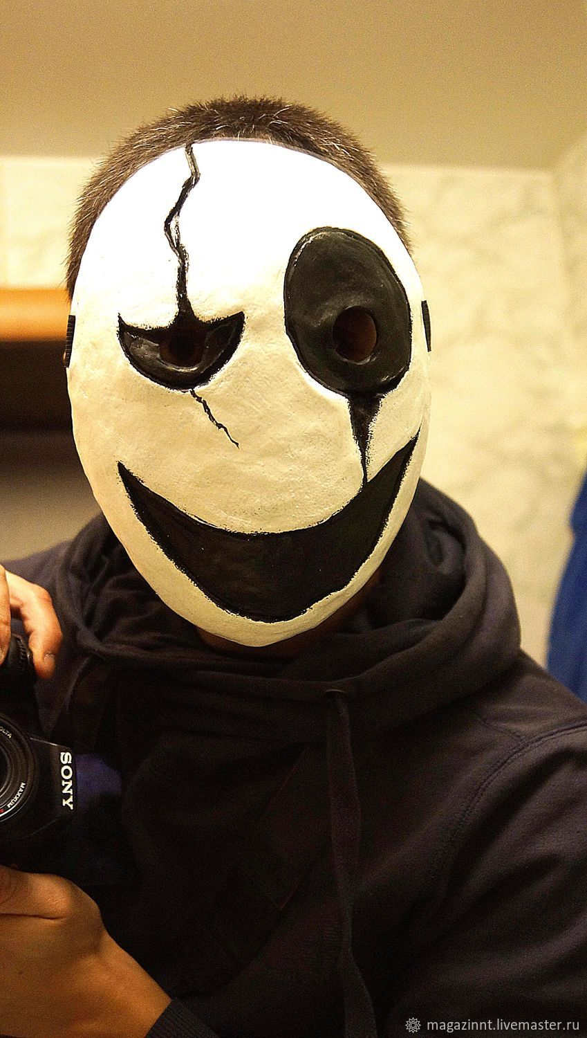 Gaster Mask Undertale video game cosplay Dead by Daylight mask – shop  online on Livemaster with shipping