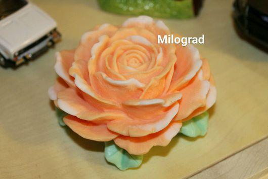 Мыло ручной работы. Ярмарка Мастеров - ручная работа. Купить Царица цветов. Handmade. Роза ручной работы, мыльная роза