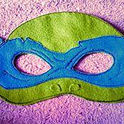 Работы для детей, ручной работы. Ярмарка Мастеров - ручная работа детские маски супергероев (черепашки ниндзя. Handmade.