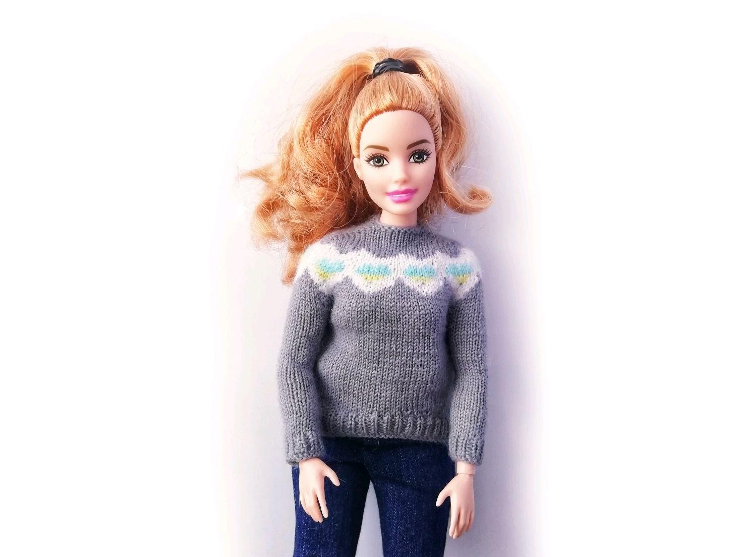 Свитер для Барби или Блайз, Одежда для кукол, Сыктывкар,  Фото №1