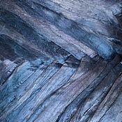 Материалы для творчества handmade. Livemaster - original item Viscose felting, 20 oz., color dark blue, glossy. Handmade.