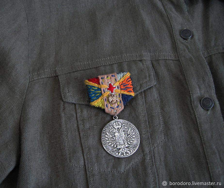 Брошь-орден Мария Терезия, Брошь-булавка, Москва,  Фото №1