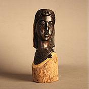 Для дома и интерьера ручной работы. Ярмарка Мастеров - ручная работа Бюст женщины Африка - эбеновое дерево. Handmade.