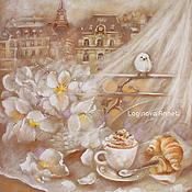 handmade. Livemaster - original item Breakfast in Paris. Handmade.