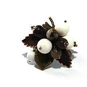 "Украшения handmade. Livemaster - original item Кольцо ""Шоколадный зефир"". Handmade."
