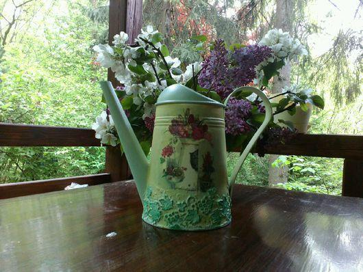 """Лейки ручной работы. Ярмарка Мастеров - ручная работа. Купить Лейка """"Прованс"""". Handmade. Лейка, цветы, лак на водной основе"""