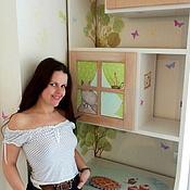 Дизайн и реклама ручной работы. Ярмарка Мастеров - ручная работа Роспись шкафа в детской. Handmade.