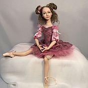 Куклы и пупсы ручной работы. Ярмарка Мастеров - ручная работа Малышка - балеринка Белла. Авторская кукла. Handmade.