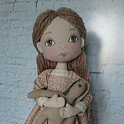 Куклы и игрушки ручной работы. Ярмарка Мастеров - ручная работа Интерьерная текстильная кукла Машенька. Handmade.