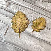 Украшения handmade. Livemaster - original item Brooch autumn Leaves. Handmade.