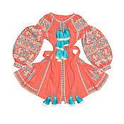 "Одежда handmade. Livemaster - original item Короткое платье с клиньями ""Неуловимая Мечта"". Handmade."