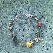 Винтаж handmade. Livemaster - original item Bracelet ceramic. Cyprus. Handmade.