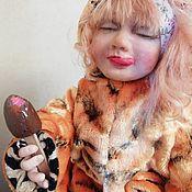 Куклы и игрушки handmade. Livemaster - original item Teddy $: Tiger. Handmade.