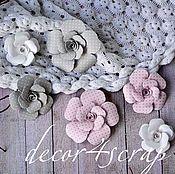 Материалы для творчества ручной работы. Ярмарка Мастеров - ручная работа Набор цветов Freetany Flowers – 14 Зефирка. Handmade.