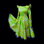 """Одежда ручной работы. Ярмарка Мастеров - ручная работа Платье """"Лайма""""  инд.пошив. Handmade."""