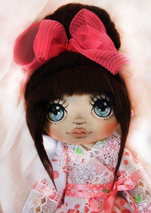 Коллекционные куклы ручной работы. Ярмарка Мастеров - ручная работа. Купить Миа. Handmade. Кукла, текстильная кукла, хлопок 100%
