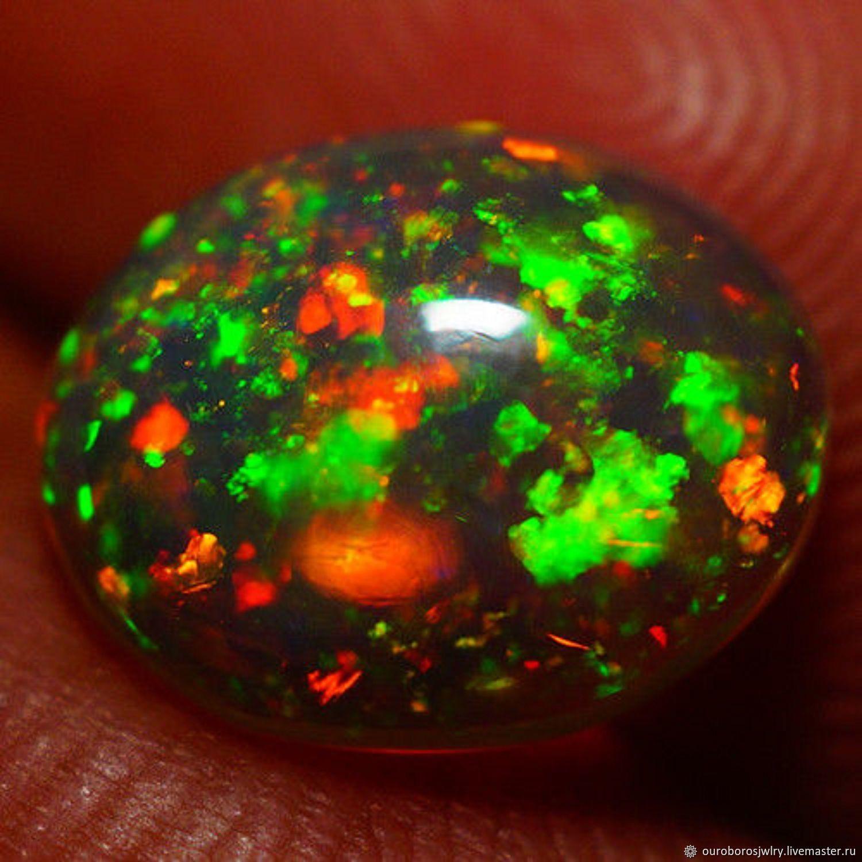 Opal. A 1,44 ct Ethiopia, Cabochons, Novosibirsk,  Фото №1