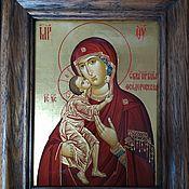 Картины и панно handmade. Livemaster - original item Icon Of The Theotokos