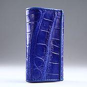 Сумки и аксессуары handmade. Livemaster - original item Crocodile leather housekeeper IMA0129C4. Handmade.