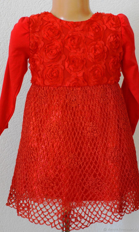 Красное платье, Платья, Вильнюс,  Фото №1
