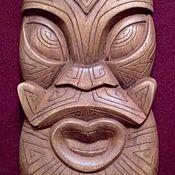 Для дома и интерьера handmade. Livemaster - original item The face of the Polynesian sea God. Handmade.