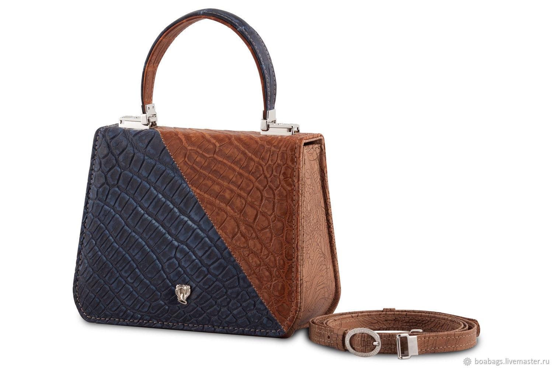 Small leather crossbody bag for women AINALHAI, Crossbody bag, Nizhny Novgorod,  Фото №1