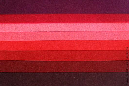 Валяние ручной работы. Ярмарка Мастеров - ручная работа. Купить Набор фетра, 8 цветов 15х15 см. Handmade. Разноцветный