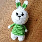 Куклы и игрушки handmade. Livemaster - original item Toy hare knitted handmade. Handmade.