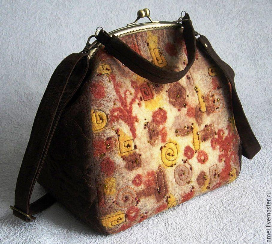Bag with clasp: Bag ladies 'Kaleidoscope-2', Clasp Bag, Izhevsk,  Фото №1