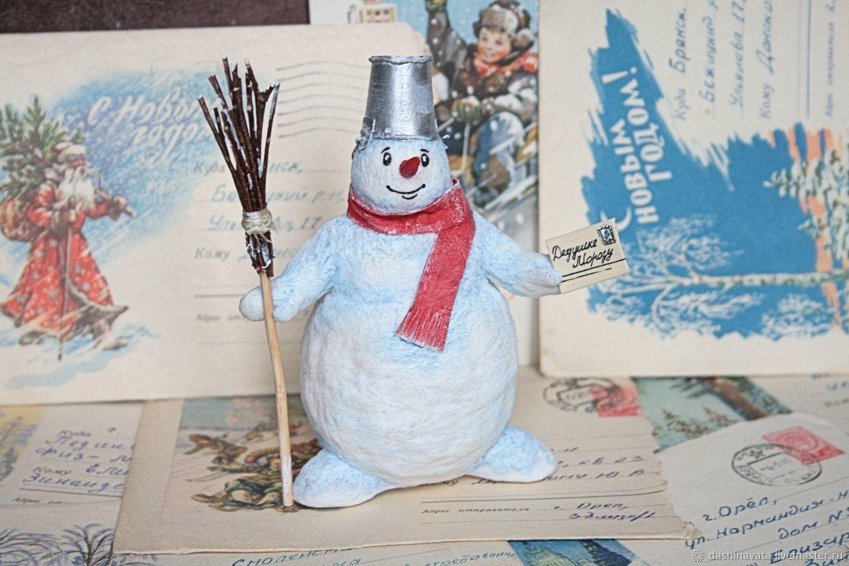 проект снеговик почтовик презентация фотоотчет секрет, что