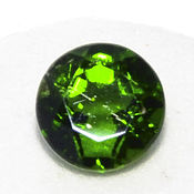 Материалы для творчества handmade. Livemaster - original item The chrome diopside is 6,6 x 3,9 mm. to 1,2 ct. Handmade.