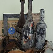 Для дома и интерьера handmade. Livemaster - original item Box for wine wine box