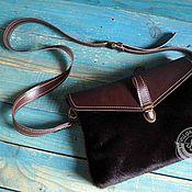 Сумки и аксессуары handmade. Livemaster - original item Pony fur bag