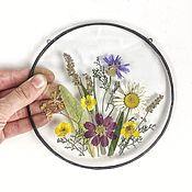 handmade. Livemaster - original item Botanical panels of