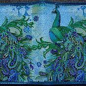 "Канцелярские товары ручной работы. Ярмарка Мастеров - ручная работа Обложка на паспорт ""Жар птица"". Handmade."