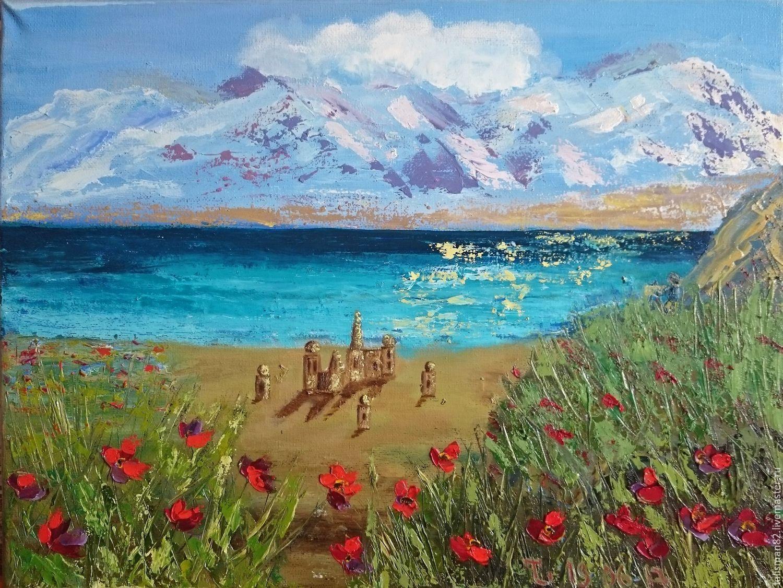 Документальные, море и горы картинки живопись