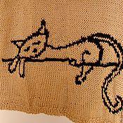 """Одежда ручной работы. Ярмарка Мастеров - ручная работа Джемпер """"Немного о кошке"""". Handmade."""