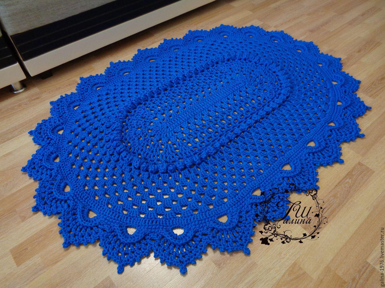 вязаные коврики крючком фото и описание вагеров позволяет создать