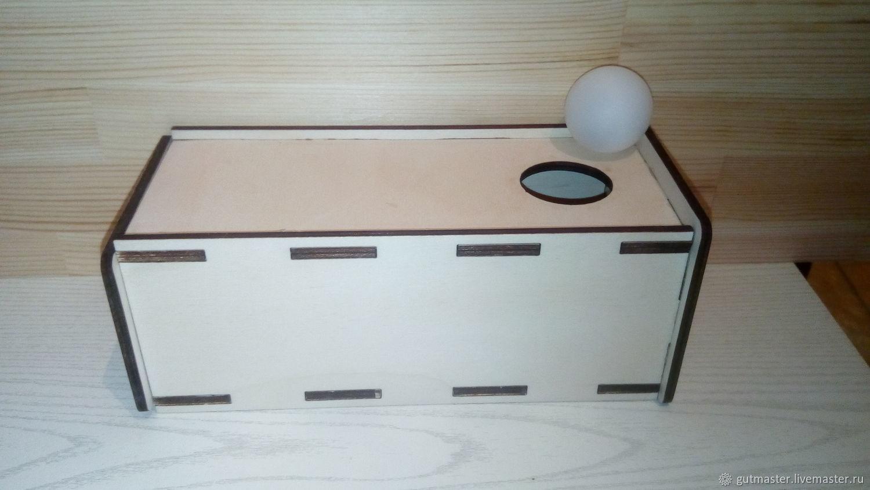 Коробочка с выдвижным ящиком, Кукольная еда, Елабуга,  Фото №1